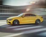 2020 Mercedes-AMG CLA 35 4MATIC (Color: Sun Yellow) Side Wallpapers 150x120 (11)