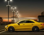 2020 Mercedes-AMG CLA 35 4MATIC (Color: Sun Yellow) Side Wallpapers 150x120 (12)