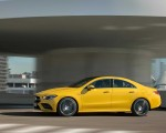 2020 Mercedes-AMG CLA 35 4MATIC (Color: Sun Yellow) Side Wallpapers 150x120 (4)