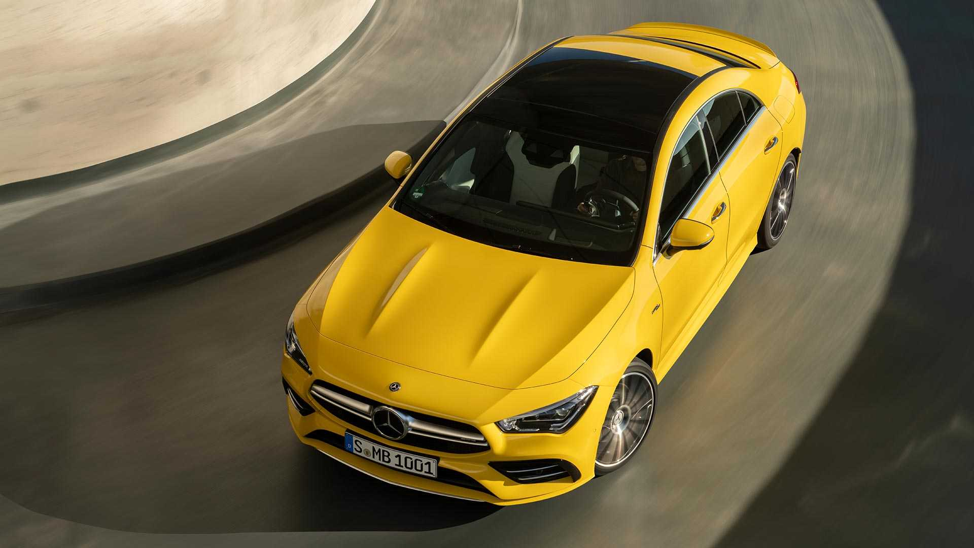2020 Mercedes-AMG CLA 35 4MATIC (Color: Sun Yellow) Top Wallpapers (5)