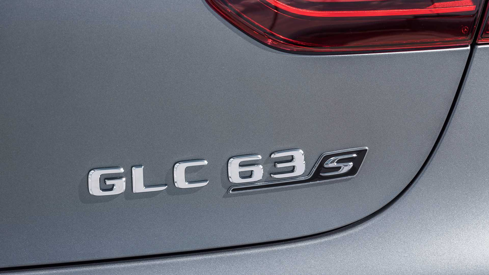 2020 Mercedes-AMG GLC 63 Coupe Badge Wallpaper (14)