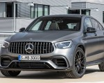 2020 Mercedes-AMG GLC 63 Coupe Front Three-Quarter Wallpapers 150x120 (7)