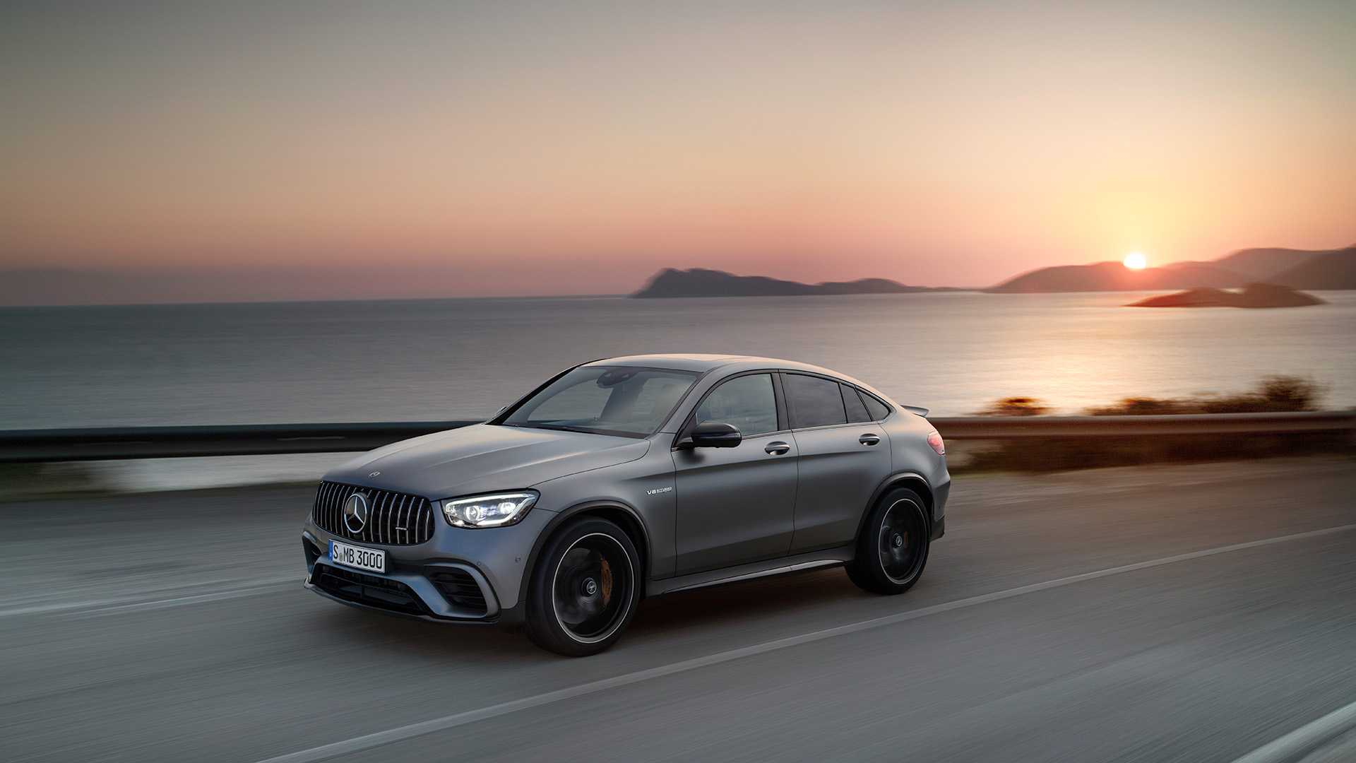 2020 Mercedes Amg Glc 63 Coupe Front Three Quarter Wallpapers 72 Newcarcars