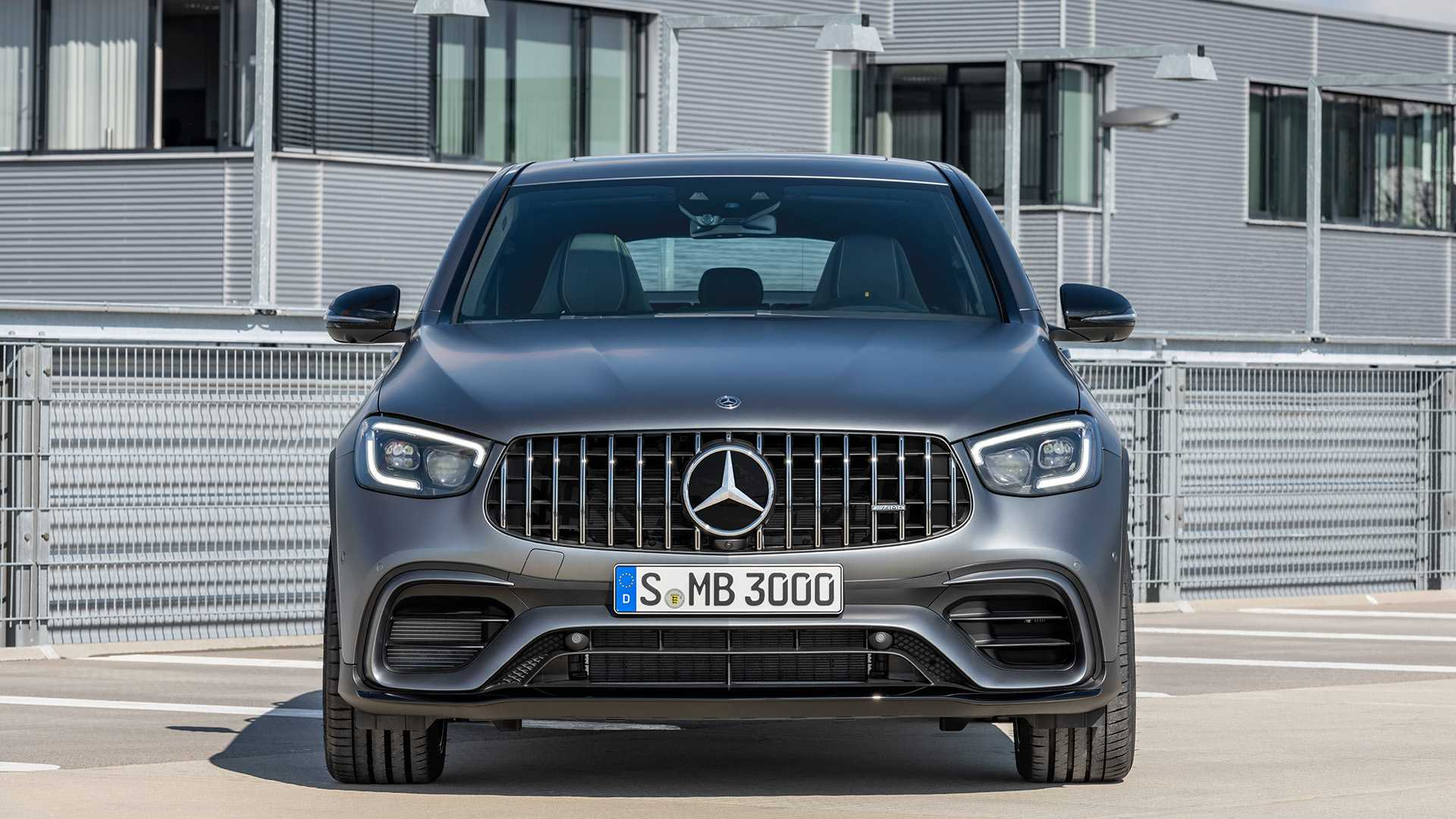 2020 Mercedes-AMG GLC 63 Coupe Front Wallpapers (8)