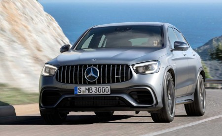 2020 Mercedes-AMG GLC 63 Coupe Wallpapers HD