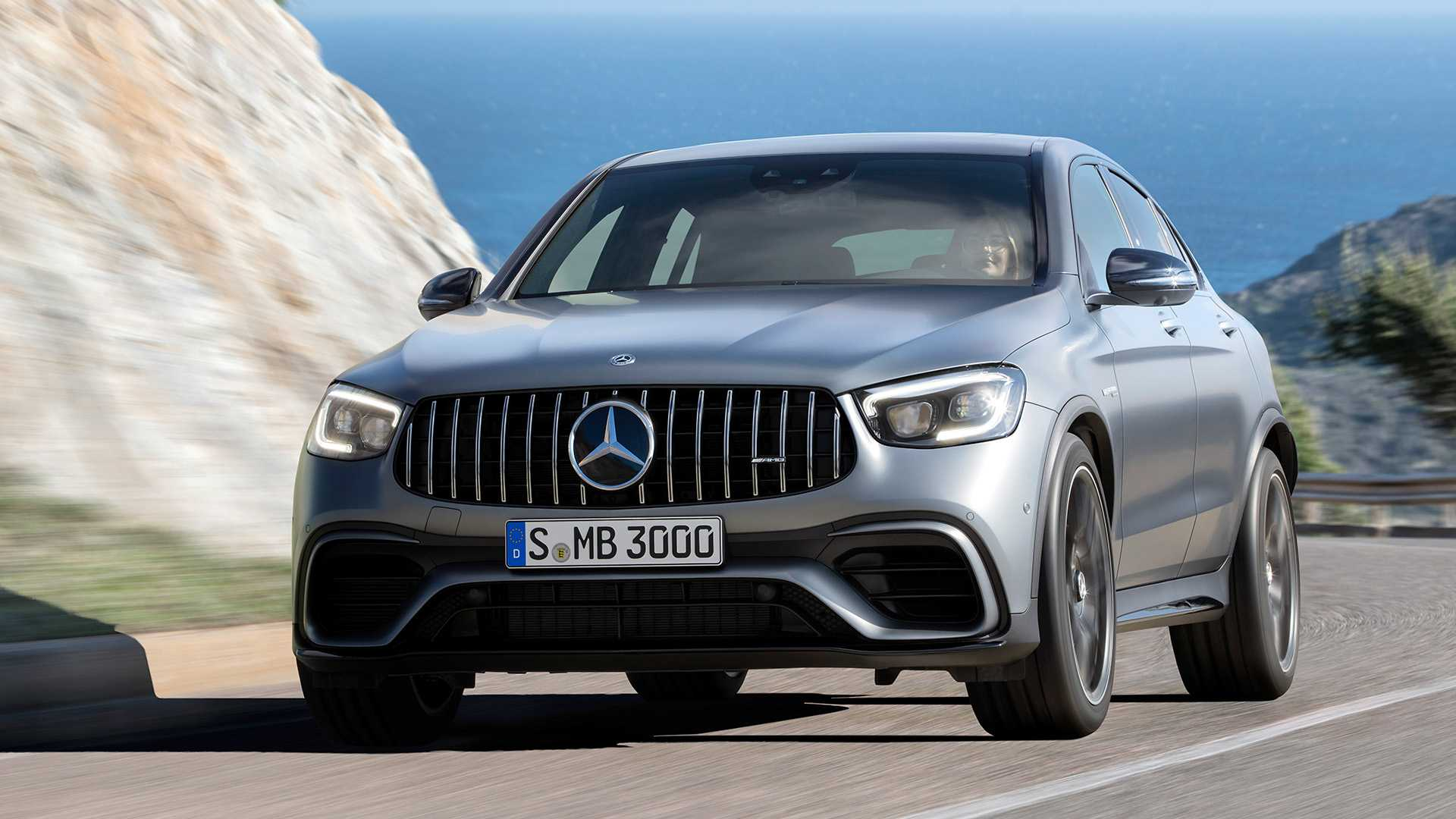 2020 Mercedes Amg Glc 63 Coupe Front Wallpapers 71 Newcarcars