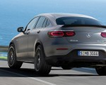 2020 Mercedes-AMG GLC 63 Coupe Rear Wallpapers 150x120 (4)