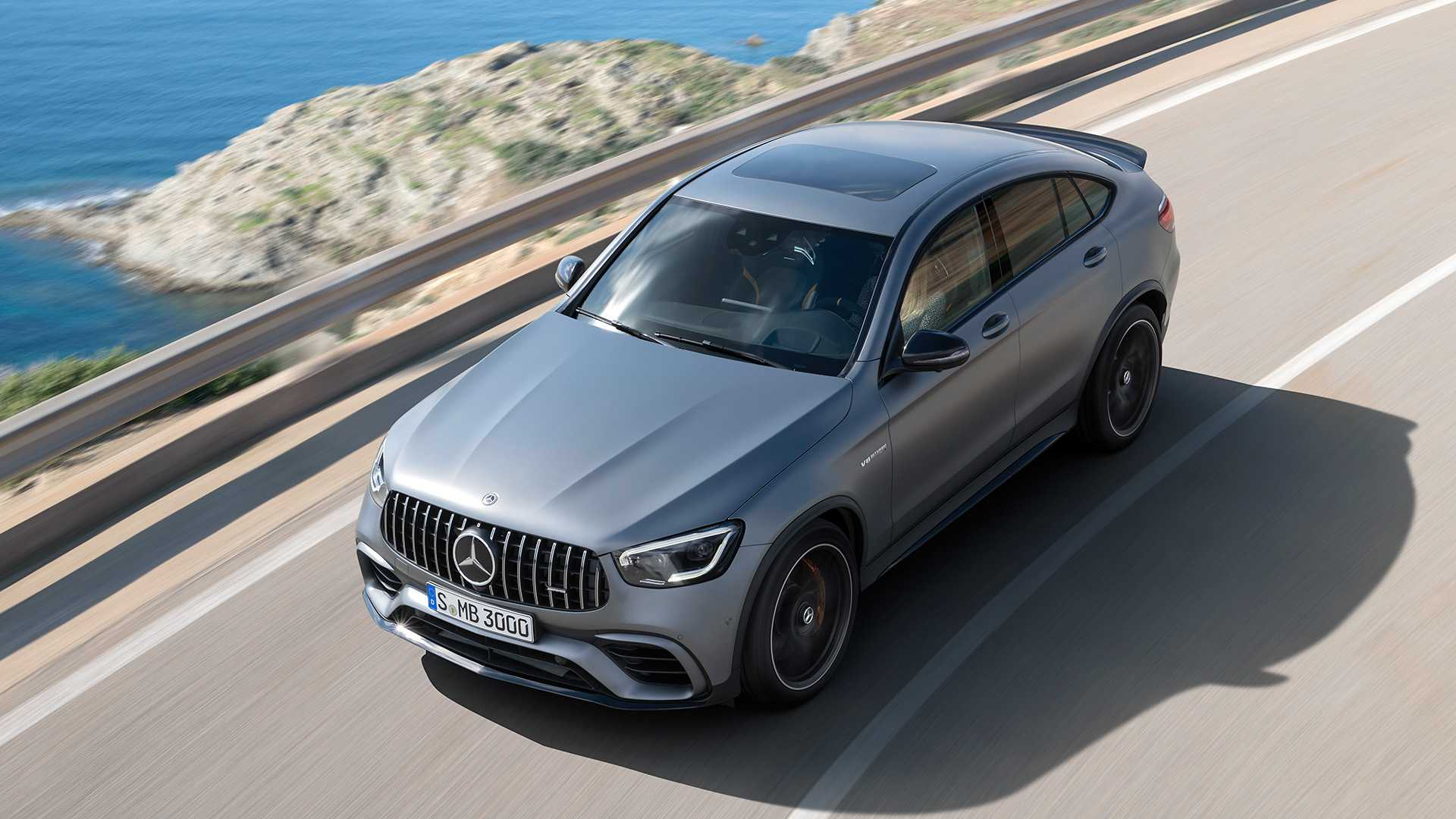 2020 Mercedes-AMG GLC 63 Coupe Top Wallpapers (6)