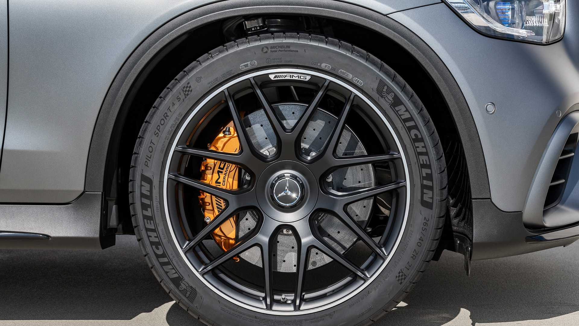 2020 Mercedes-AMG GLC 63 Coupe Wheel Wallpapers (11)