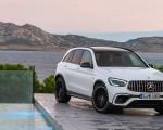 2020 Mercedes-AMG GLC 63 Front Three-Quarter Wallpapers 150x120 (17)