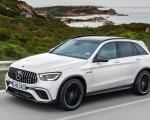 2020 Mercedes-AMG GLC 63 Front Three-Quarter Wallpapers 150x120 (2)