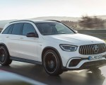 2020 Mercedes-AMG GLC 63 Front Three-Quarter Wallpapers 150x120 (3)