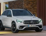 2020 Mercedes-AMG GLC 63 Front Wallpapers 150x120 (18)