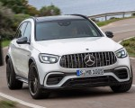 2020 Mercedes-AMG GLC 63 Front Wallpapers 150x120 (4)