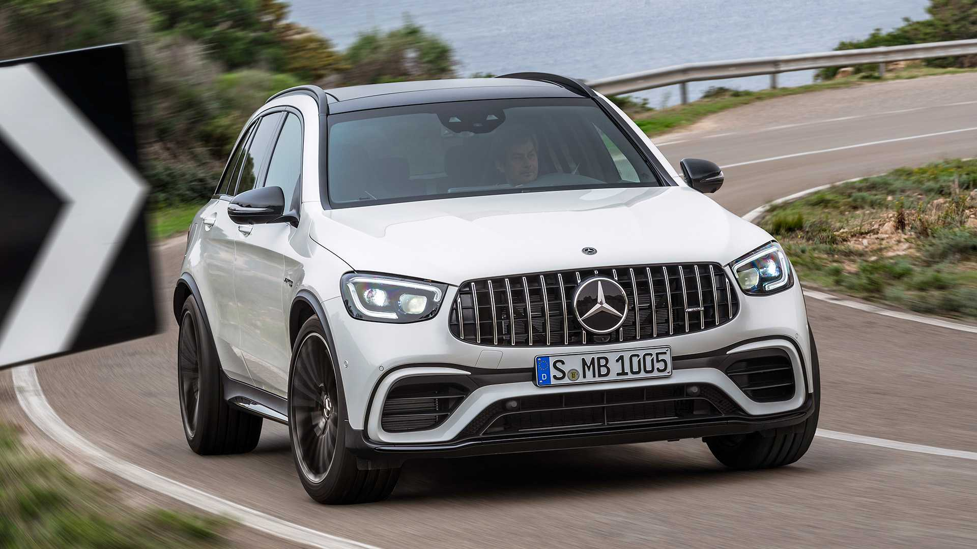 2020 Mercedes-AMG GLC 63 Front Wallpapers (4)