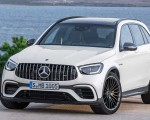 2020 Mercedes-AMG GLC 63 Front Wallpapers 150x120 (13)