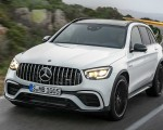 2020 Mercedes-AMG GLC 63 Front Wallpapers 150x120 (5)