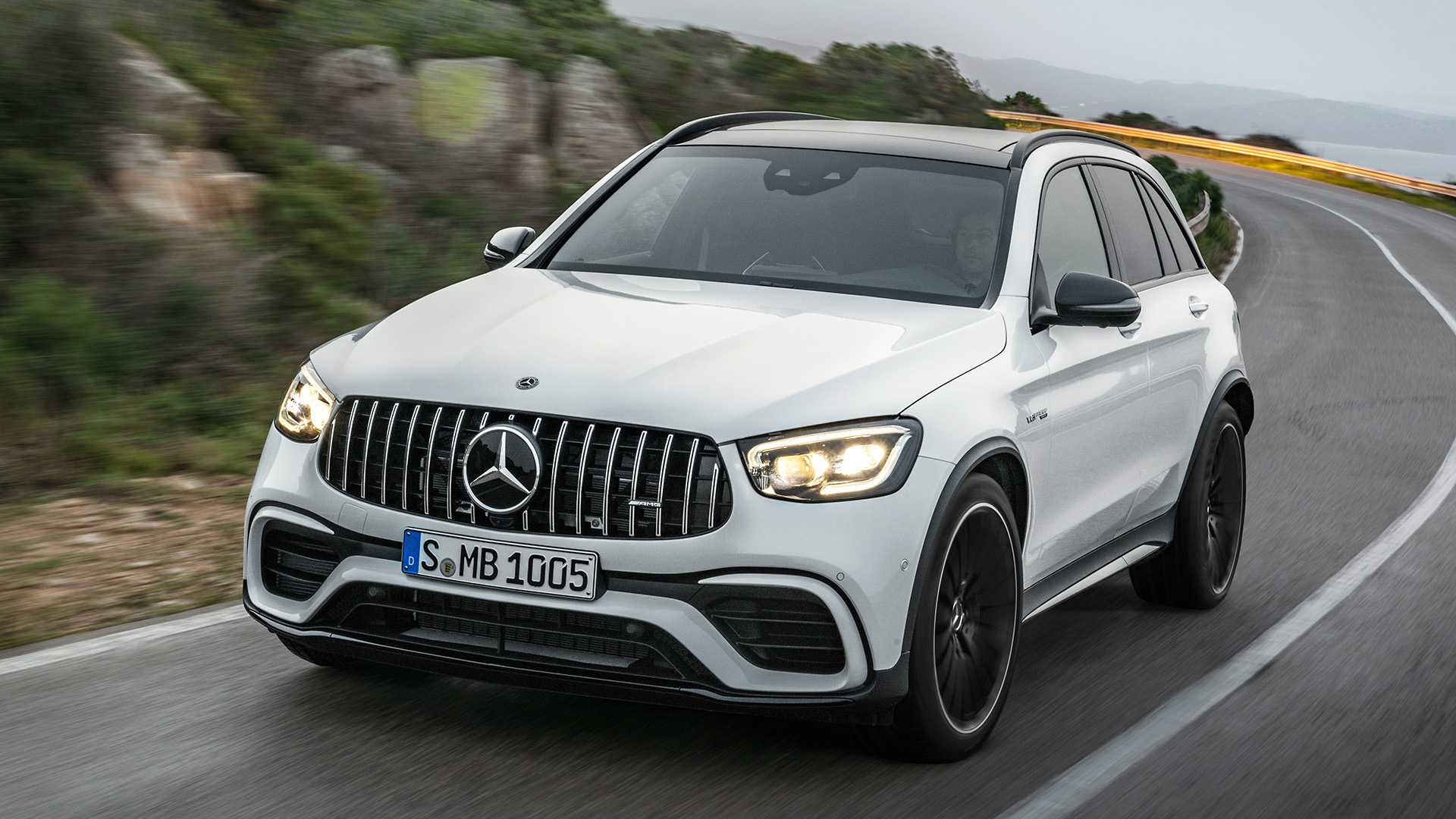 2020 Mercedes-AMG GLC 63 Front Wallpapers (5)