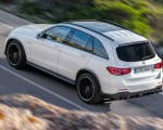 2020 Mercedes-AMG GLC 63 Rear Three-Quarter Wallpaper 150x120 (7)