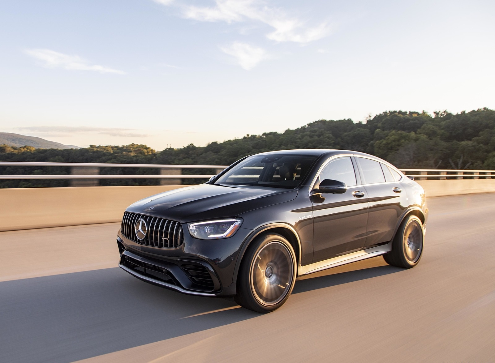 2020 Mercedes-AMG GLC 63 S Coupe (US-Spec) Front Three-Quarter Wallpapers (4)