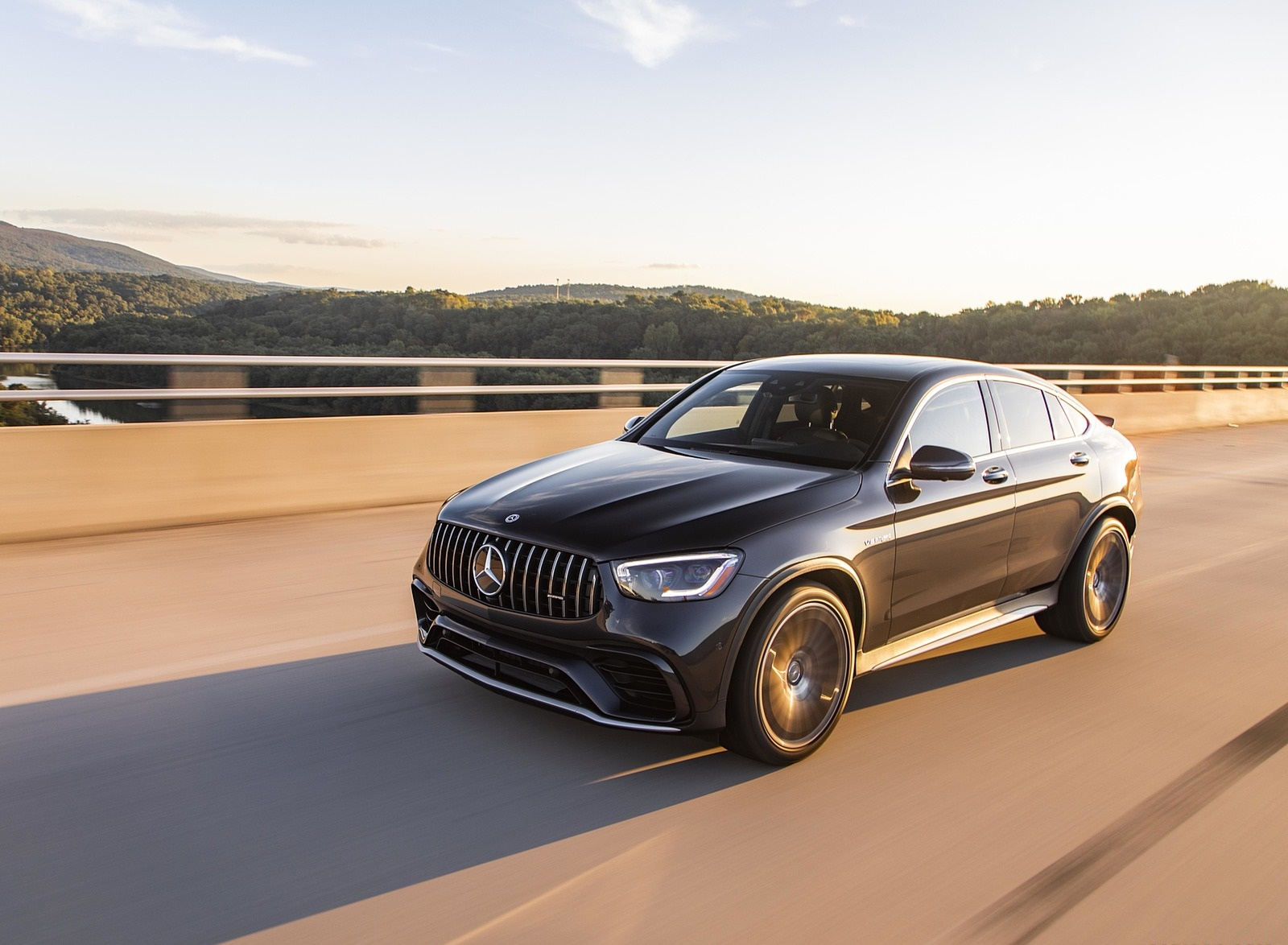 2020 Mercedes-AMG GLC 63 S Coupe (US-Spec) Front Three-Quarter Wallpapers (5)