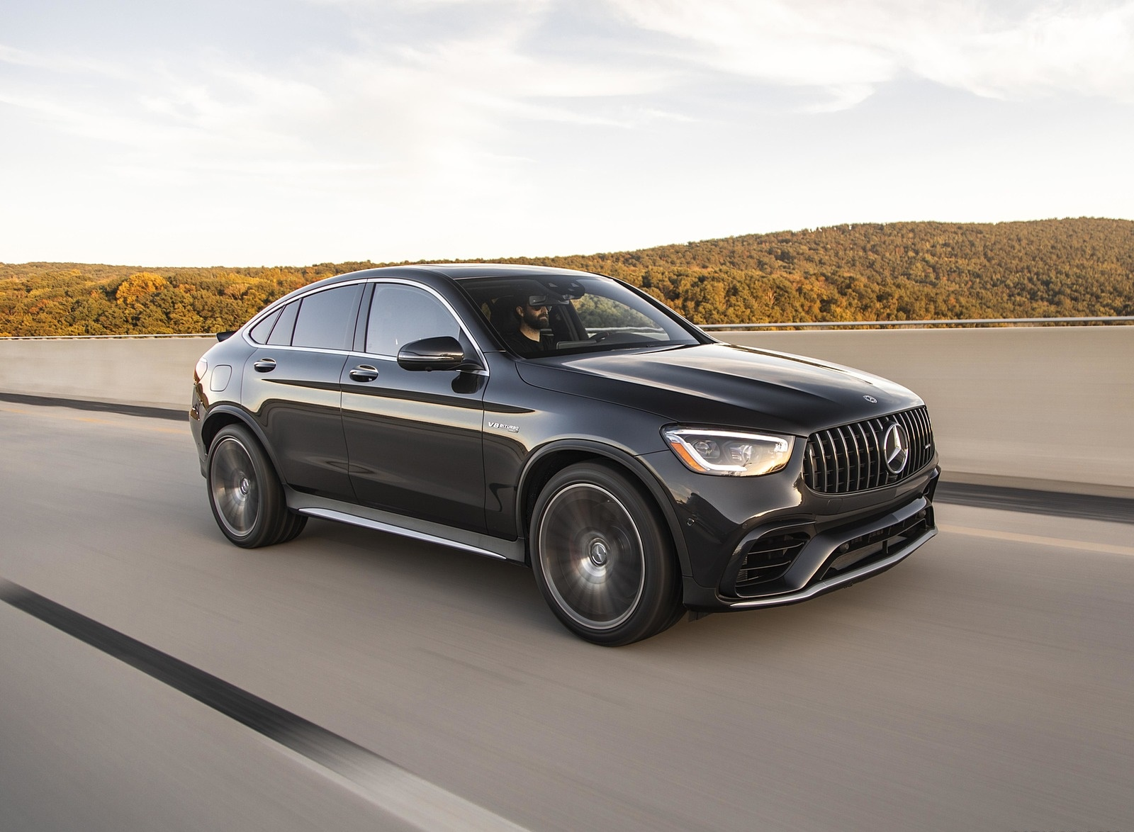 2020 Mercedes-AMG GLC 63 S Coupe (US-Spec) Front Three-Quarter Wallpapers (6)
