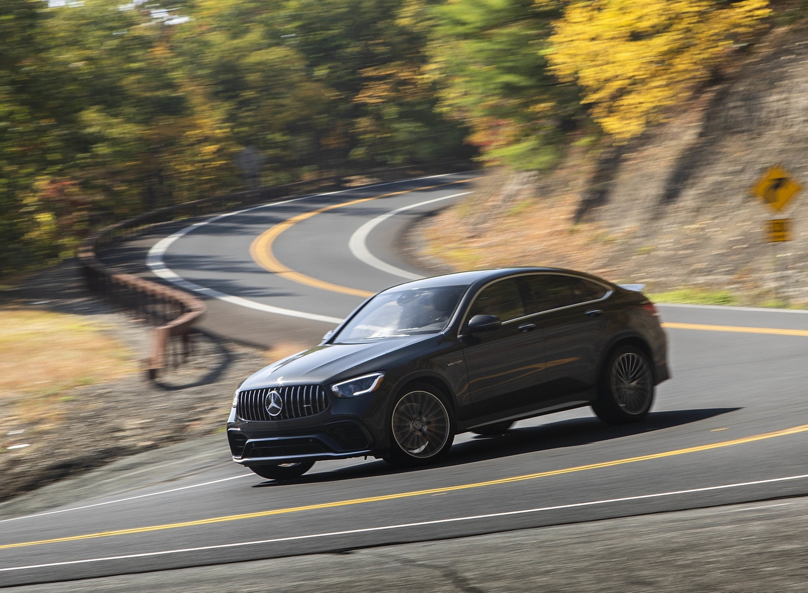 2020 Mercedes-AMG GLC 63 S Coupe (US-Spec) Front Three-Quarter Wallpapers (7)