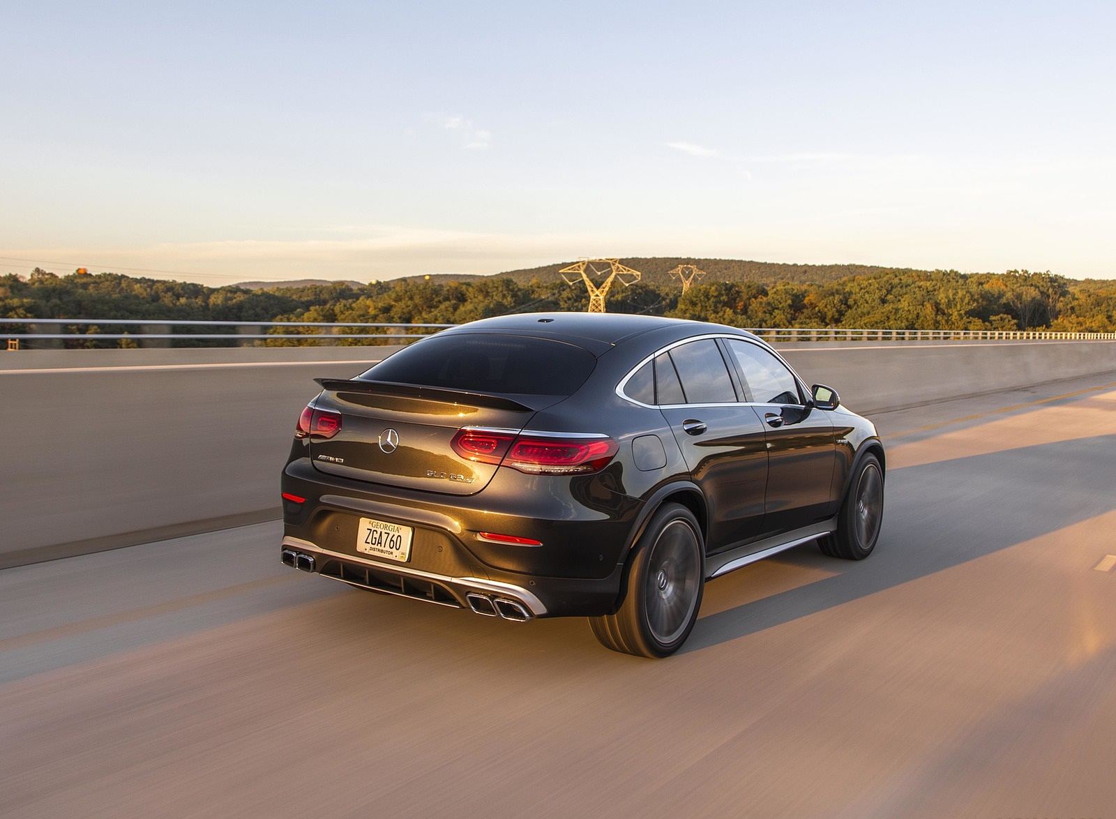 2020 Mercedes-AMG GLC 63 S Coupe (US-Spec) Rear Three-Quarter Wallpapers (10)