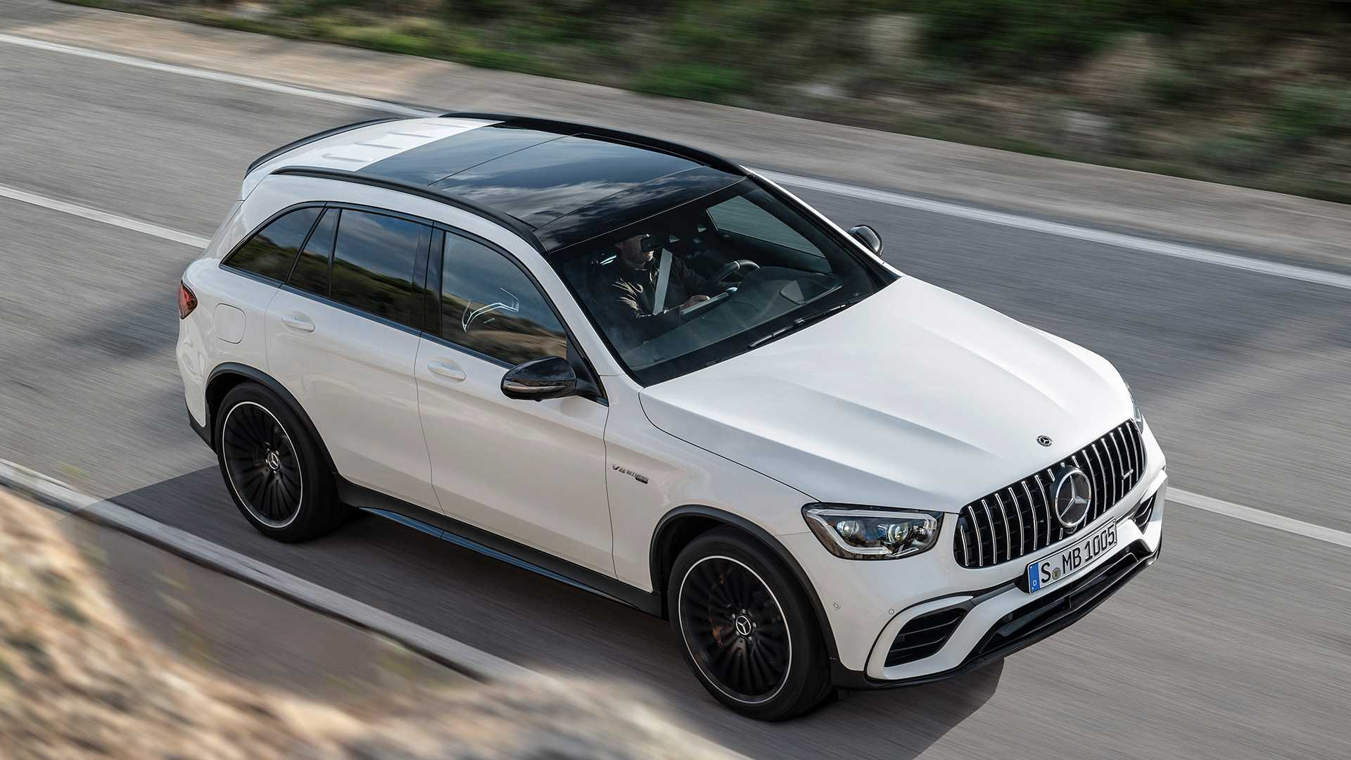 2020 Mercedes-AMG GLC 63 Top Wallpapers (10)