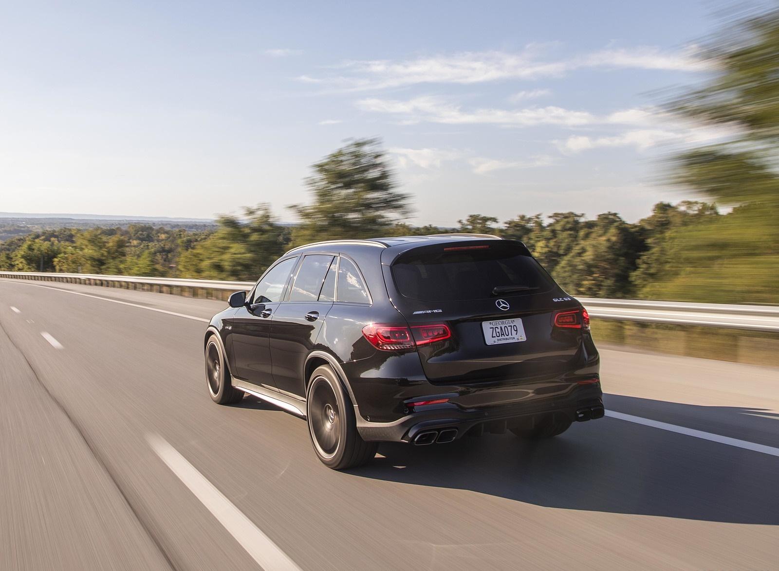 2020 Mercedes-AMG GLC 63 (US-Spec) Rear Three-Quarter Wallpapers (7)