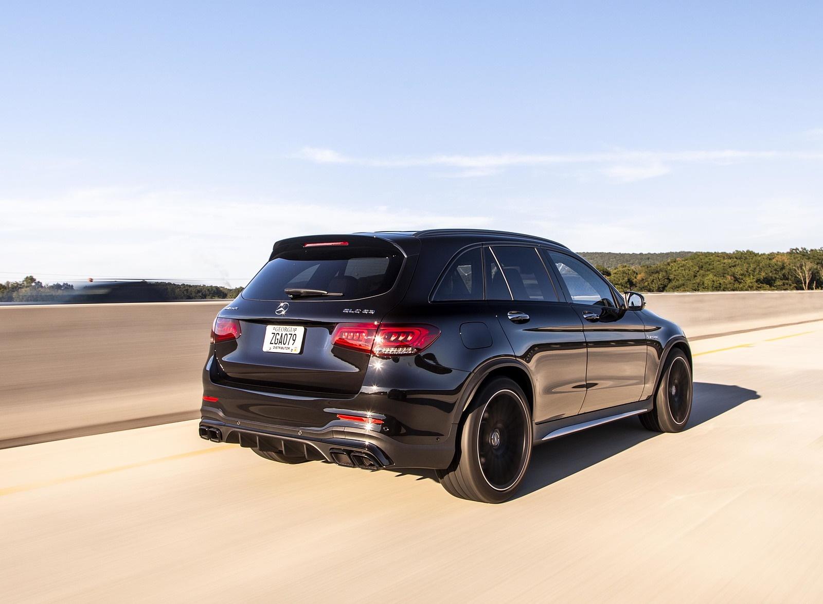 2020 Mercedes-AMG GLC 63 (US-Spec) Rear Three-Quarter Wallpapers (8)