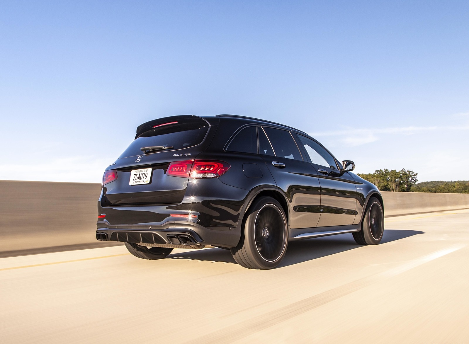 2020 Mercedes-AMG GLC 63 (US-Spec) Rear Three-Quarter Wallpapers (9)