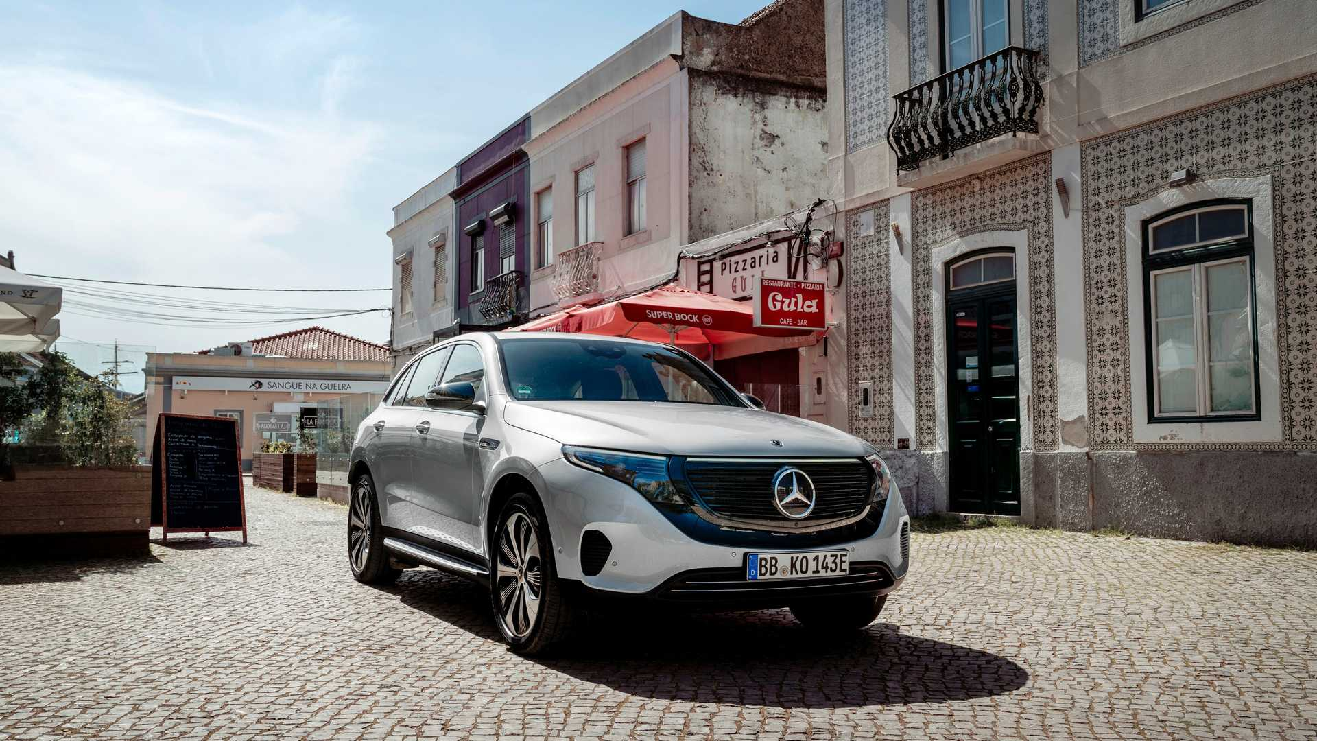 2020 Mercedes-Benz EQC Edition 1886 Front Three-Quarter Wallpapers (5)