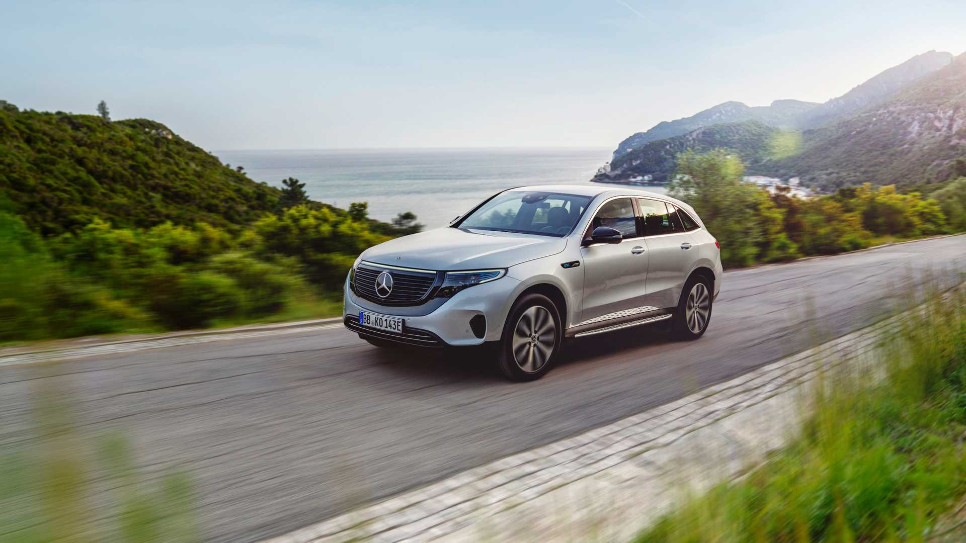 2020 Mercedes-Benz EQC Edition 1886 Front Three-Quarter Wallpapers (2)