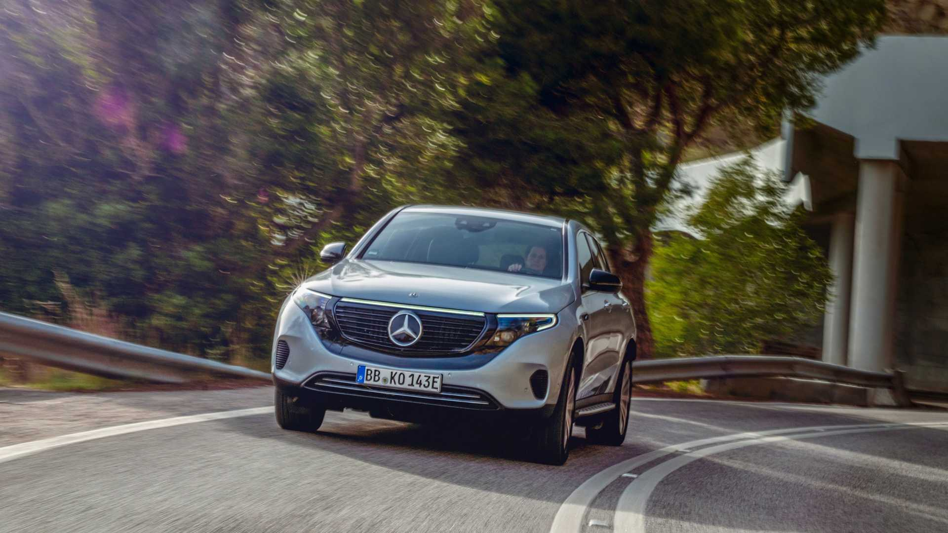 2020 Mercedes-Benz EQC Edition 1886 Front Wallpapers (1)