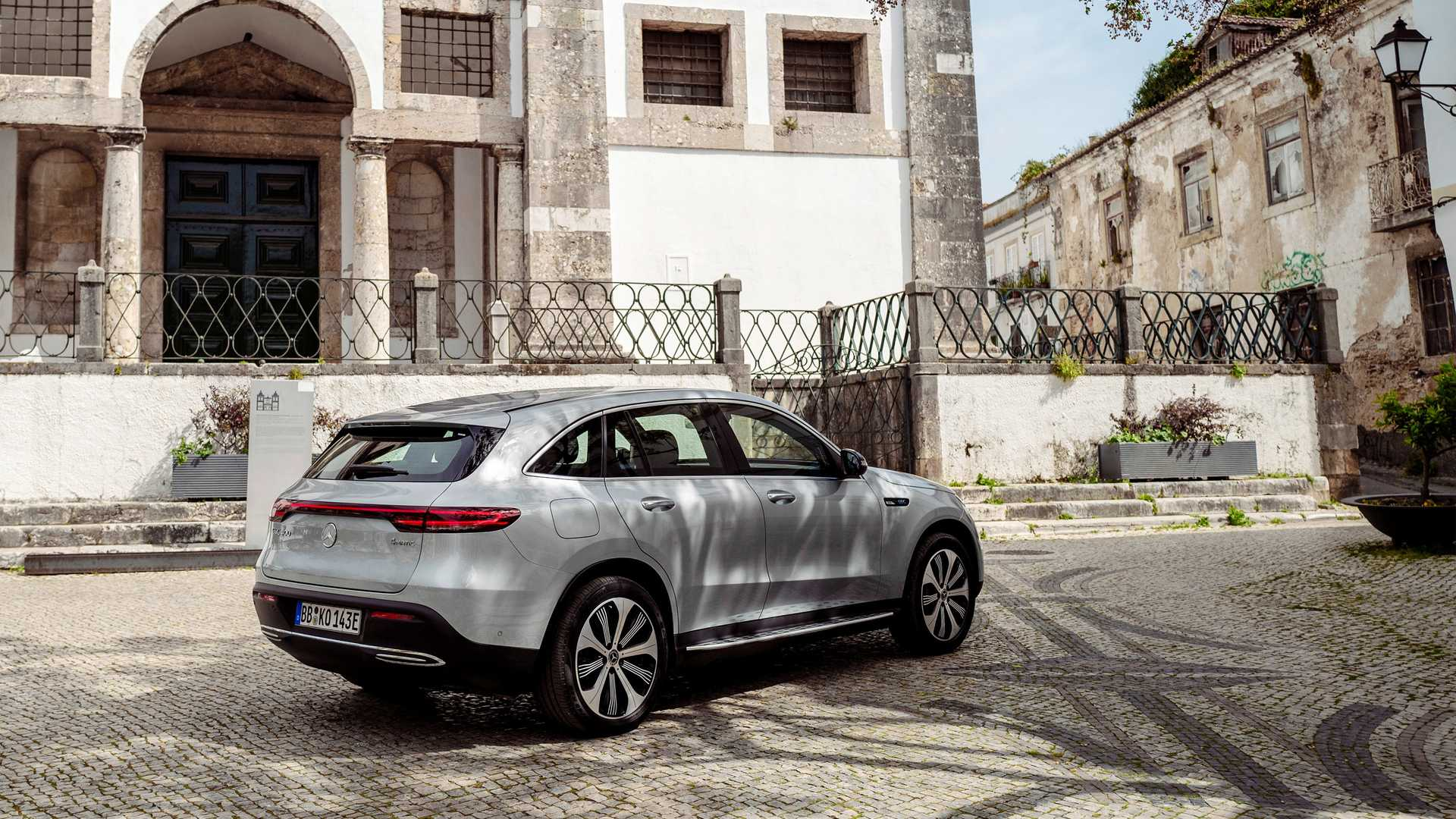 2020 Mercedes-Benz EQC Edition 1886 Rear Three-Quarter Wallpapers (7)