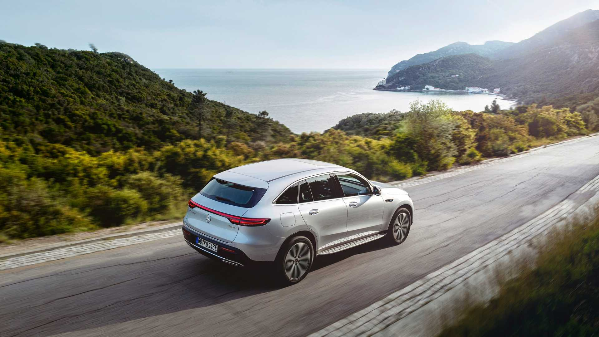 2020 Mercedes-Benz EQC Edition 1886 Rear Three-Quarter Wallpapers (4)