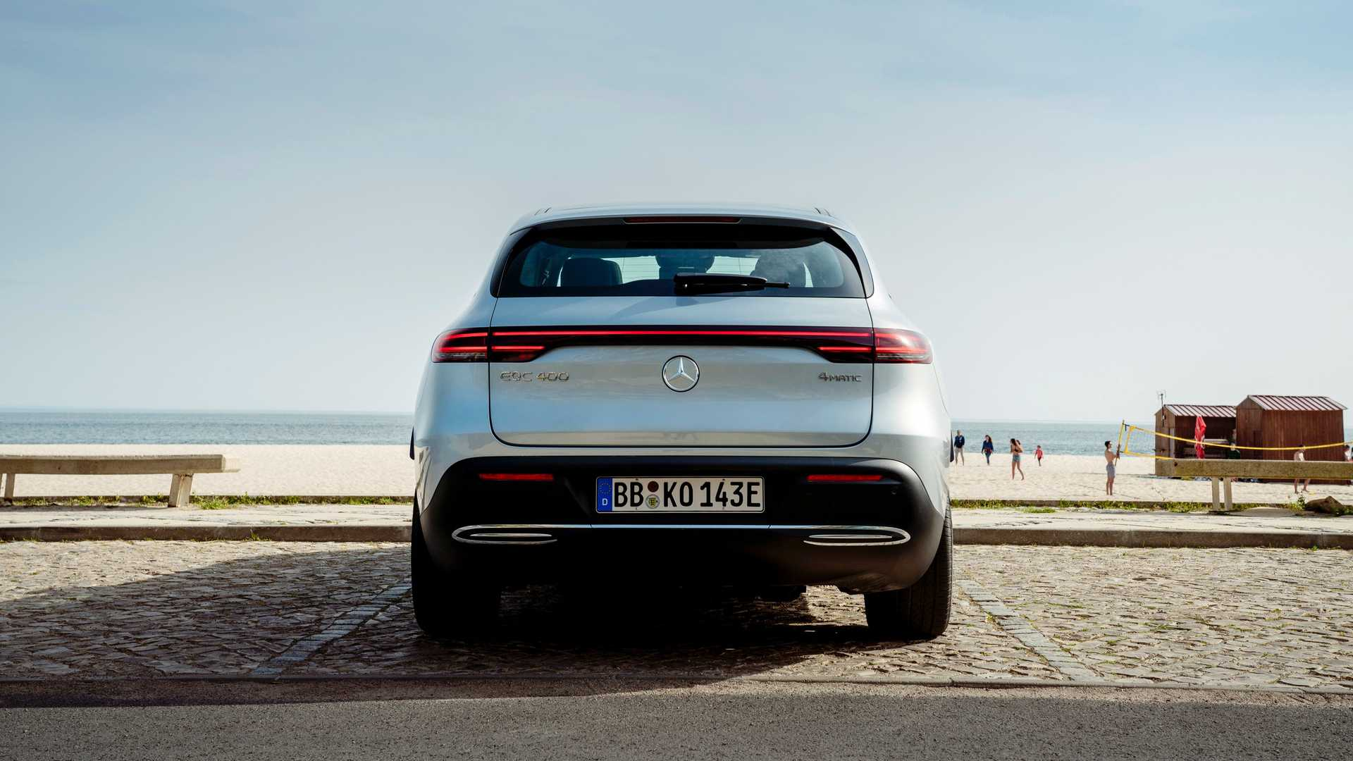 2020 Mercedes-Benz EQC Edition 1886 Rear Wallpapers (12)
