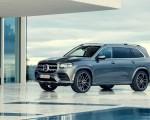 2020 Mercedes-Benz GLS AMG Line (Color: Designo Selenite Grey Metallic) Front Three-Quarter Wallpaper 150x120 (19)