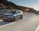 2020 Mercedes-Benz GLS AMG Line (Color: Designo Selenite Grey Metallic) Front Three-Quarter Wallpapers 150x120 (2)