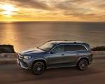 2020 Mercedes-Benz GLS AMG Line (Color: Designo Selenite Grey Metallic) Front Three-Quarter Wallpaper 150x120 (3)