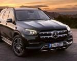 2020 Mercedes-Benz GLS AMG Line (Color: Designo Selenite Grey Metallic) Front Wallpapers 150x120 (40)