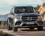 2020 Mercedes-Benz GLS AMG Line (Color: Designo Selenite Grey Metallic) Front Wallpapers 150x120 (5)