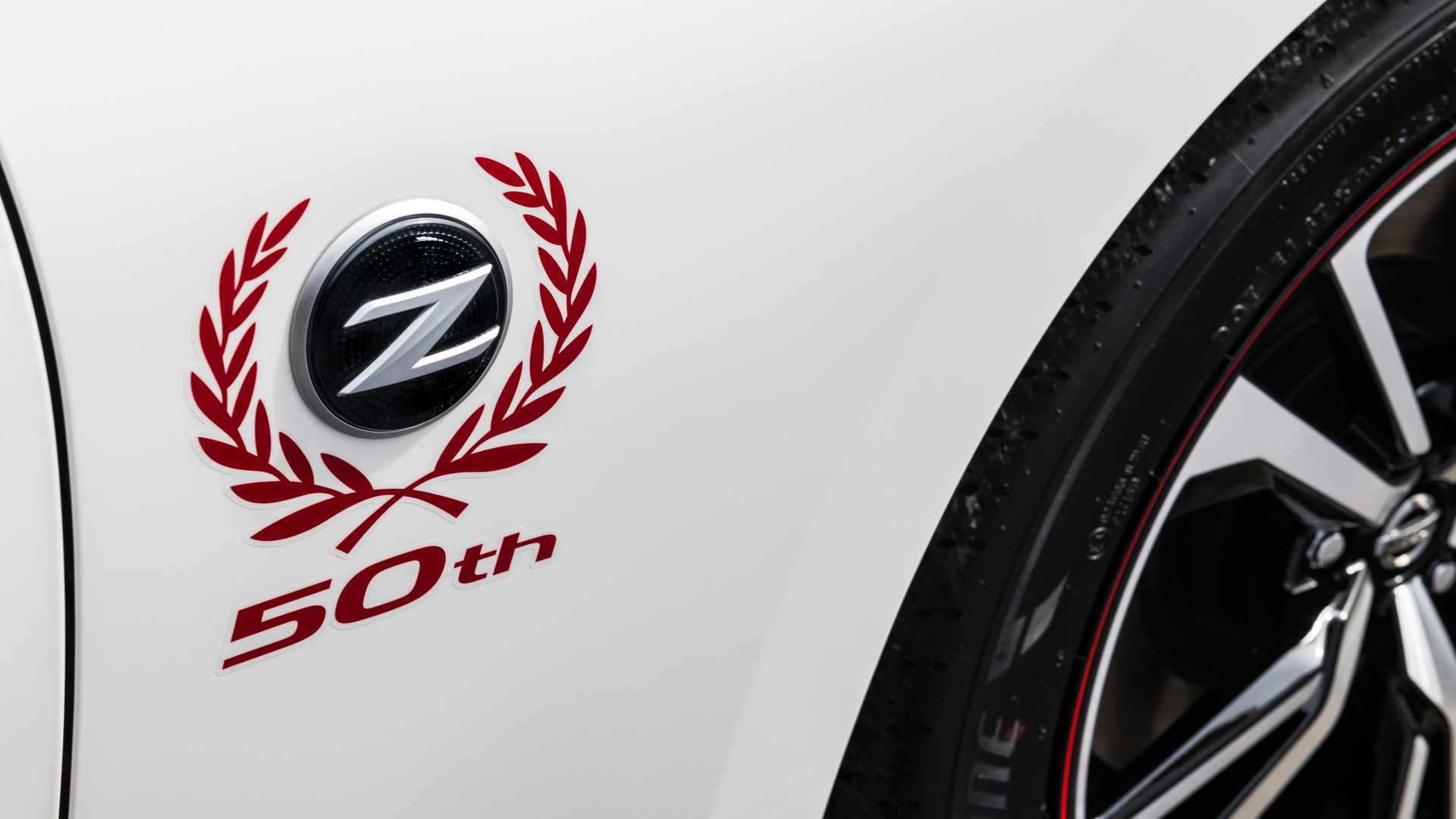 2020 Nissan 370Z 50th Anniversary Edition Detail Wallpapers (15)