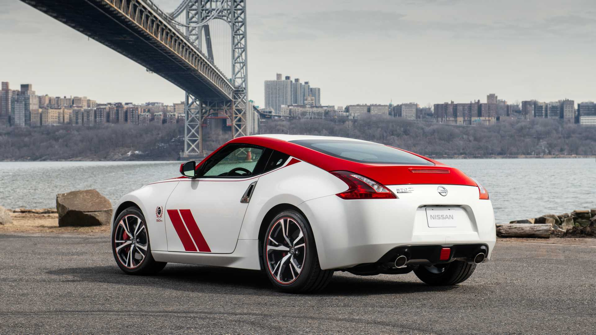 2020 Nissan 370Z 50th Anniversary Edition Rear Three-Quarter Wallpapers (7)