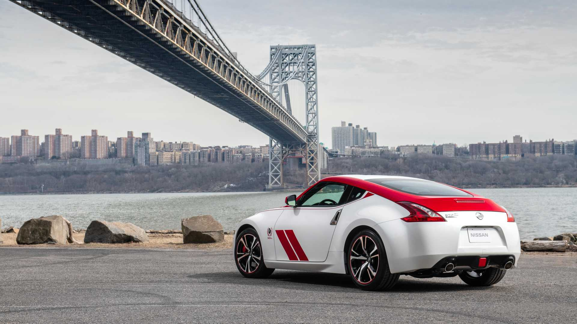 2020 Nissan 370Z 50th Anniversary Edition Rear Three-Quarter Wallpapers (2)