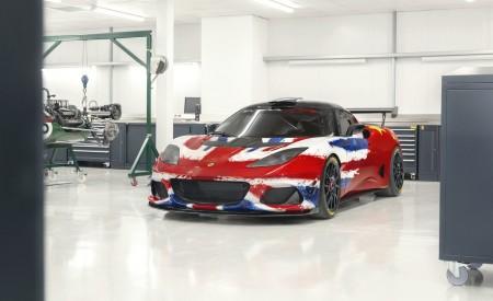 2019 Lotus Evora GT4 Concept Front Three-Quarter Wallpapers 450x275 (10)