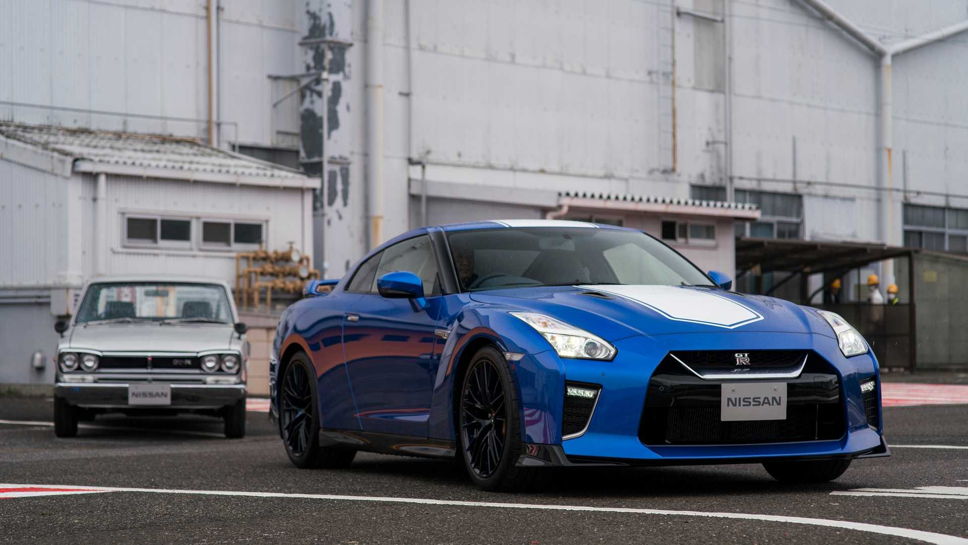2020 Nissan GT-R 50th Anniversary Edition Front Three-Quarter Wallpapers (1)