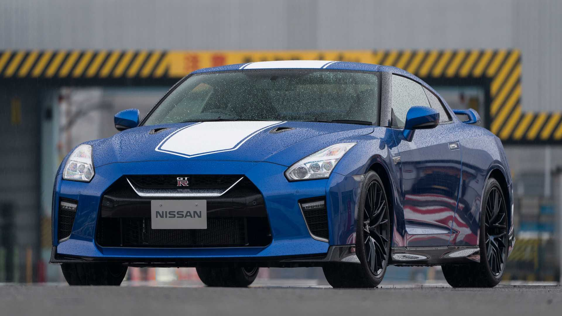 2020 Nissan GT-R 50th Anniversary Edition Front Wallpapers (3)