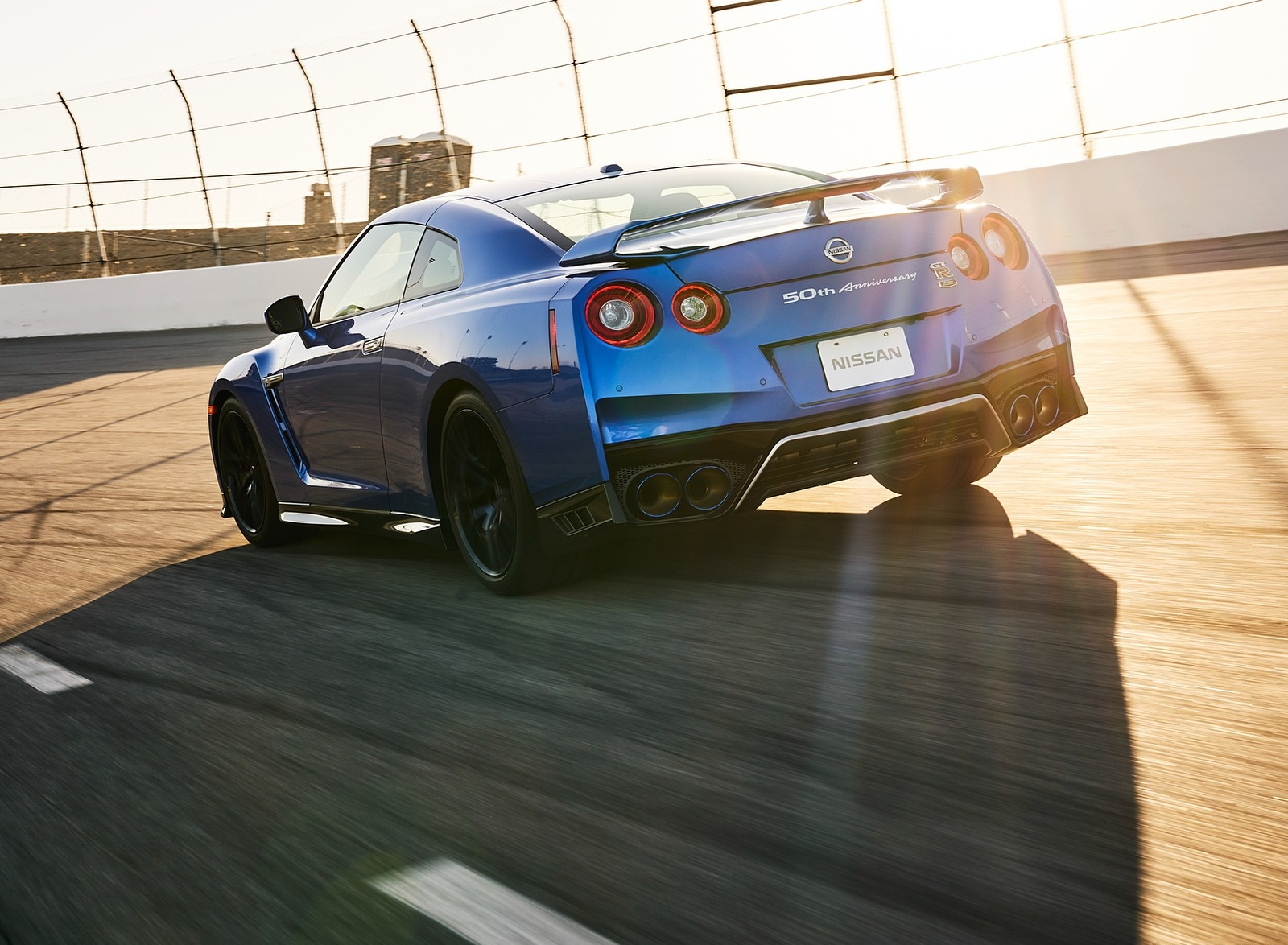 2020 Nissan GT-R 50th Anniversary Edition Rear Three-Quarter Wallpapers (8)